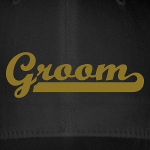 Black Groom Caps & Hats - Flexfit Baseball Cap