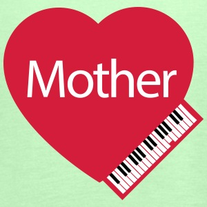 Mother's Day Heart and Piano - Women's Tank Top by Bella