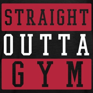 STRAIGHT OUTTA GYM Tops - Frauen Tank Top von Bella