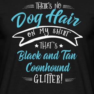 Black and Tan Coonhound T-Shirts - Men's T-Shirt