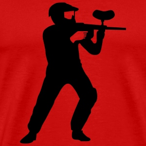 paintball Tee shirts - T-shirt Premium Homme