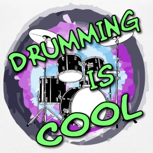 Drumming is cool / Drummer / Schlagzeug Tops - Frauen Premium Tank Top