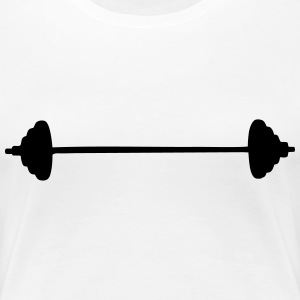 Barbell (cheap!) T-Shirts - Women's Premium T-Shirt
