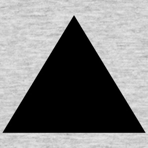Triangle, pyramid (cheap!) Tee shirts - T-shirt Homme