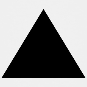 Triangle, pyramid (cheap!) T-shirts - Børne premium T-shirt