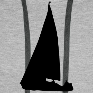 Sailboat (cheap!) Sweat-shirts - Sweat-shirt à capuche Premium pour hommes