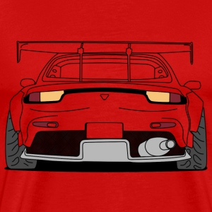 rx7 rear outlines T-skjorter - Premium T-skjorte for menn
