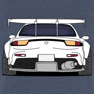 rx7rear white T-Shirts - Frauen Premium T-Shirt
