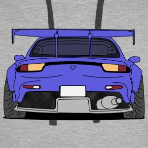 rx7rear colourful Hoodies & Sweatshirts - Men's Premium Hoodie