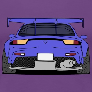 rx7rear colourful T-Shirts - Women's Premium T-Shirt