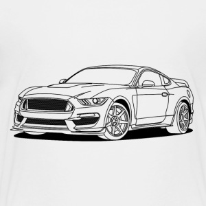 Cool Car T-shirts - Børne premium T-shirt
