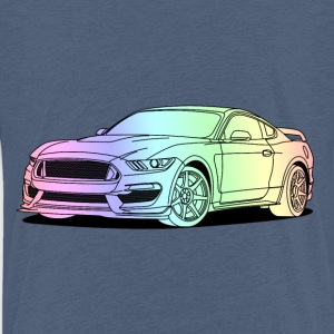 Cool Car Colourful Skjorter - Premium T-skjorte for barn
