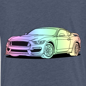 Cool Car Colourful T-Shirts - Kinder Premium T-Shirt