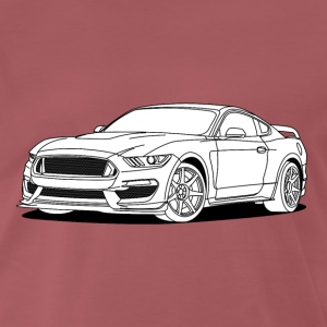 Cool Car White T-skjorter - Premium T-skjorte for menn