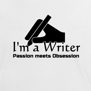 I'm a Writer - Passion meets Obsession  - Women's Ringer T-Shirt
