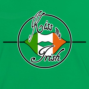 Kiss me Irish - Women's Ringer T-Shirt