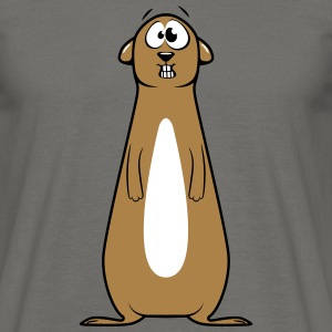 Meerkats witty doof T-Shirts - Men's T-Shirt