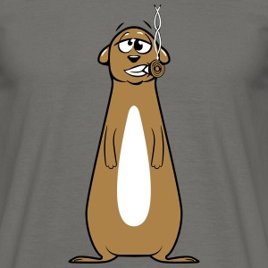 Meerkats witty joint kiffen T-Shirts - Men's T-Shirt