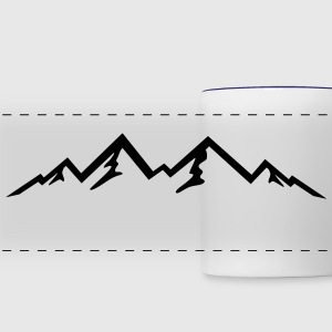 Mountain, Mountains (super cheap!) Bouteilles et Tasses - Tasse panorama