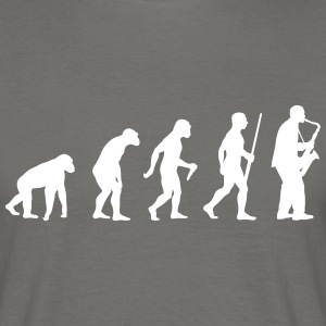 Saxophonist Evolution - Männer T-Shirt