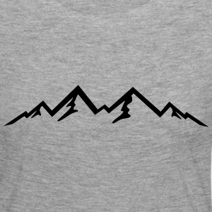 Mountain, Mountains (super cheap!) Manga larga - Camiseta de manga larga premium mujer