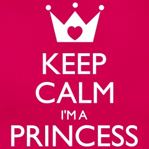 Keep calm I'm a princess - Frauen T-Shirt