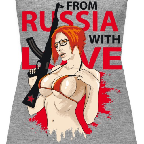 From Russia with love (für helle Shirts)
