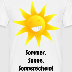 Sonne 2 ohne Brille Tee shirts - T-shirt Homme