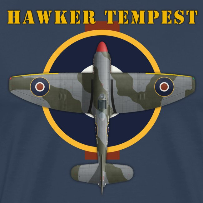 """Hawker Tempest"" - Men's T-Shirt"