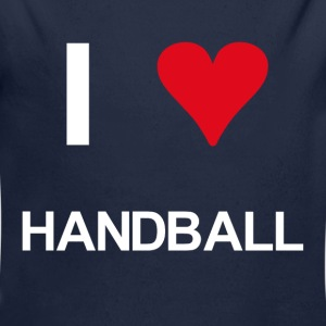 I love handball - Baby Bio-Langarm-Body