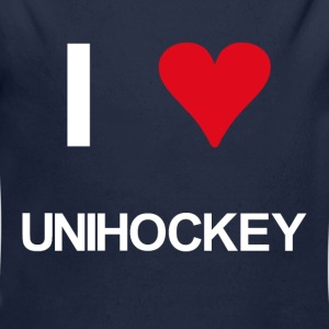 I love unihockey - Baby Bio-Langarm-Body