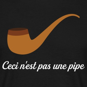 Ceci nest pas une pipe T-Shirts - Men's T-Shirt