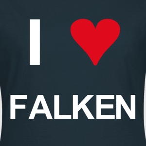 I love Falken - Frauen T-Shirt
