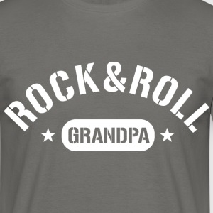 rock and roll grandpa T-Shirts - Männer T-Shirt