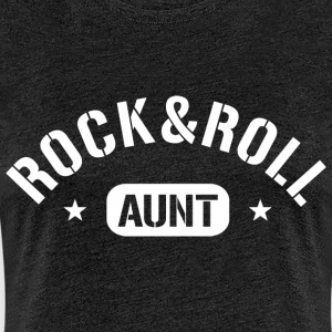 Rock and Roll Aunt T-Shirts - Frauen Premium T-Shirt