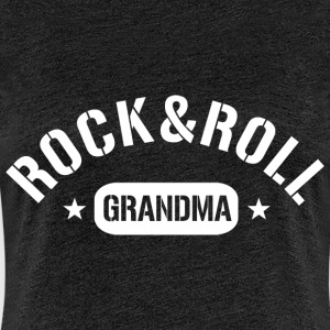 rock and roll grandma T-Shirts - Frauen Premium T-Shirt
