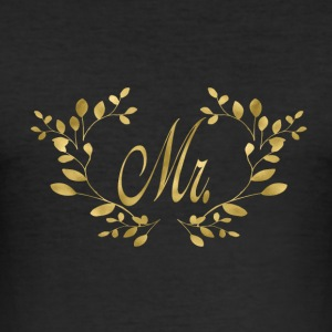 mr_gold T-Shirts - Men's Slim Fit T-Shirt