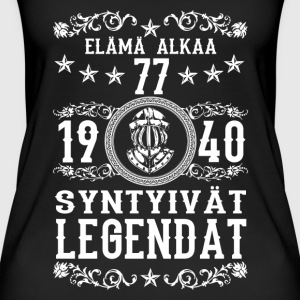 1940 - 77 vuotta - Legendat - 2017 - FI Tops - Frauen Bio Tank Top