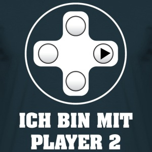 Gamer Player 2 T-Shirts - Männer T-Shirt