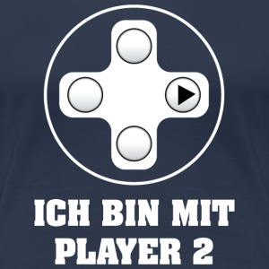Gamer Player 2 T-Shirts - Frauen Premium T-Shirt