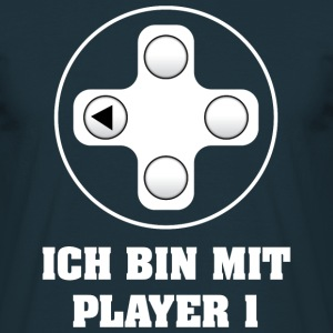 Gamer Player 1 T-Shirts - Männer T-Shirt