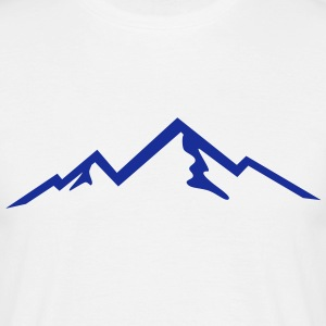 Mountains, Mountain (super cheap) Magliette - Maglietta da uomo