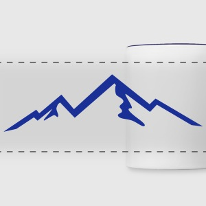 Mountains, Mountain (super cheap) Mugs & Drinkware - Panoramic Mug