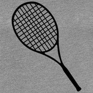 Tennis, Tennis racket (super cheap) Camisetas - Camiseta premium mujer