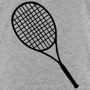 Tennis, Tennis racket (super cheap) T-shirts - Børne premium T-shirt