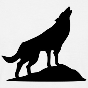 Wolf - Wolkshund (super cheap) T-shirts - Mannen T-shirt