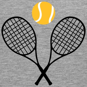 Tennis, tennis racket and tennis ball (cheap!) Långärmade T-shirts - Långärmad premium-T-shirt herr
