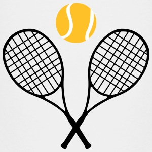 Tennis, tennis racket and tennis ball (cheap!) Magliette - Maglietta Premium per bambini