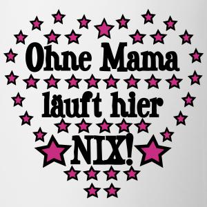 Ohne Mama Mutter Spruch