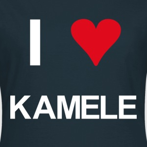 I love Kamele - Frauen T-Shirt
